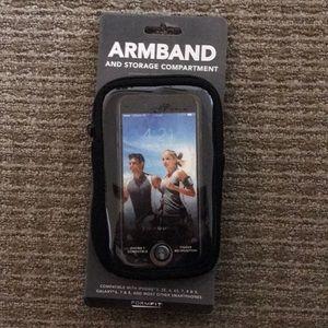 Running phone armband